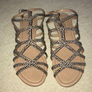 Coconuts by Matisse tan embellished sandals-NEW!